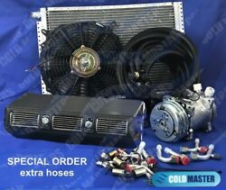 Universal Underdash Air Conditioner Kit 450 Special Extra Hoses And Elect Harness