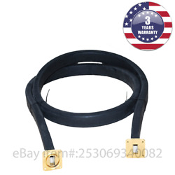 New Wr75 Flexible Waveguide 48 Inches Length Twistable Cover/cover-groove