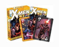 Marvel Comics 'x-men' Comic Playing Cards Licensed Product Brand New 'wolverine'