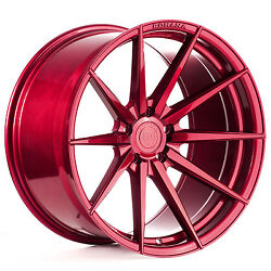 """20"""" Rohana Rf1 Gloss Red Concave Wheels For Mercedes Cls400 Cls550 Cls63"""
