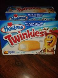 Andnbsporiginal Hostess Twinkies 2 Boxes Golden In Box And Sealed.andnbsp