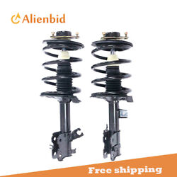 Front Pair Complete Struts Assembly And Coil Spring For Nissan Altima 2002-2006