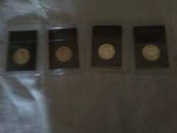 4 Susan B Anthony And 6 Eisenhower Coins