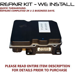 Repair Kit Fits 07-10 Audi S4 And A4 Quattro Abs Pump Control Module We Install