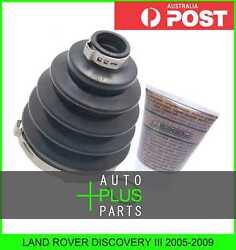 Fits Land Rover Discovery Iii 2005-2009 Outer C.v. Joint Boot 88x126x26.5 Kit