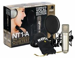 Rode NT1A Anniversary Vocal Condenser Microphone Package Gold