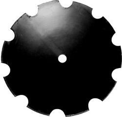 Amx57109 Double-bevel Disc Blade Notched Edge For Universal Tillage