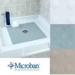 Large Non-slip Rubber Shower Mat With Microban Slipx Solutions Square Stall Mat
