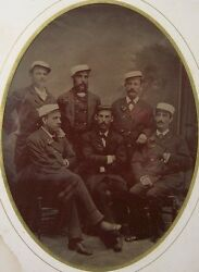 Civil War Discharge And Full Plate Tintype Photo 9/8/1862 Giles A