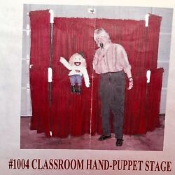 Puppet Gallery Deluxe Classroom-size Hand Puppet Stage 250