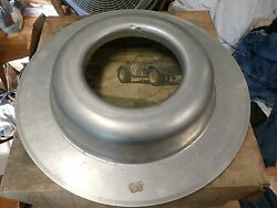 Vintage NASCAR air cleaner base for Competition Holley Holman Moody Bud Moore