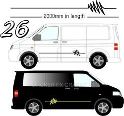 Graphic Decals Self Adhesive Vinyl Stickers Any Vehicle Vw Campers Motorhome D26