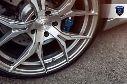 22andrdquo Rohana Rfx5 Brushed Titanium Wheels For Bentley Continental Gt Flying Spur