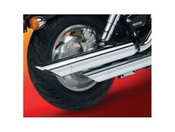 National Cycle Peacemaker Slip-On Exhaust For 00-06 Harley Heritage Softail
