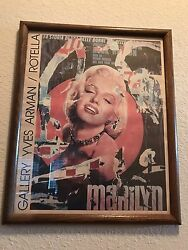 Vintage Marilyn Monroe Wall Picture