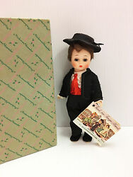 Mint Madame Alexander Vintage 8 Spanish Boy Spain Bent Knee Doll With Box And Tag
