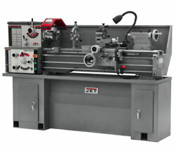 NEW JET TOOLS - 321124 - GHB1340A BENCH LATHE W COLLET CLOSER