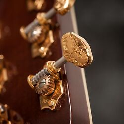 Waverly Guitar Tuners With Engraved Knobs For Solid Pegheads