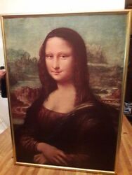 Home Wall Decor Art Hand-painted Oil Painting No Frame 266 Mona Lisa