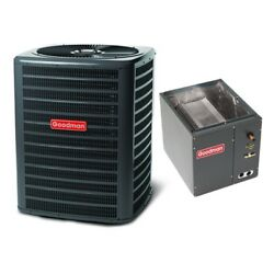 3 Ton 14 Seer Goodman Air Conditioning Condenser And Coil Gsx140361 - Capf3642c6
