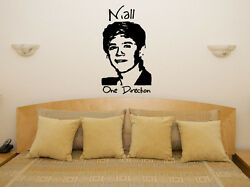 Niall Horan One Direction 1d Children's Bedroom Decal Wall Art Sticker Picture