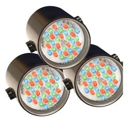 Kasco Marine Rgb6c5 Led Rgb Composite Color Changing 6 Light Kit 100and039 Power Cord