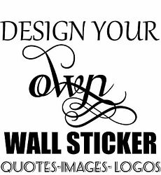 Personalised Wall Sticker