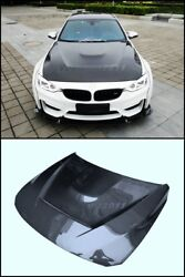 Double Side Carbon Bonnet Fit For 14-15 BMW F80 M3 F82 F83 M4 GTS Style Hood
