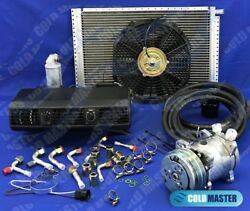 A/c-kit Universal Under Dash Evaporator 202-1 And14x20 Condenser And Elec. Harness