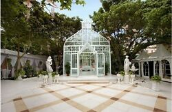 GOTHIC VICTORIAN WEDDING HALL  GAZEBO GREENHOUSE  CONSERVATORY - X12