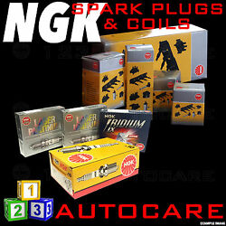 Ngk Platinum Spark Plugs And Ignition Coil Set Re9b-t 2809 X2 And U5093 48283 X2