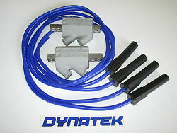 Yamaha Fzr1000 2.2 Ohm Dyna Performance Ignition Coils And Taylor Leads.blue
