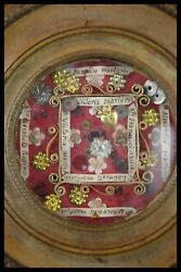 † 18th Elizabeth Tosf + Latin Saints And Martyrs Multi Reliquary 8 Relics Italy †