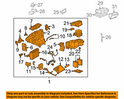 Mercedes Oem 08 C-class Hvac-a/c And Heater Assembly 2098300362 From Clk63 Amg