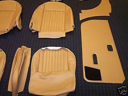 Deluxe Doeskin Tan Leather Interior Kit Spitfire Mk4 1500 Interior Made To Order