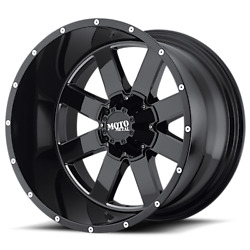 18x9 Moto Metal Mo962 Wheel And Tire Package 33 At 8x6.5 Chevy Gmc Dodge Ram