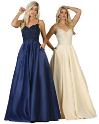 SPECIAL OCCASION GRADUATION EVENING GOWN NEW BRIDESMAID DRESS MARINE CORPS BALL