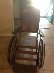 Antique Sears Approved Wheelchair 1570 Very Good Condition Considering Age.