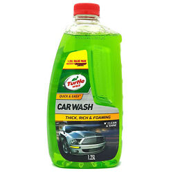 Turtle Wax Quick And Easy Car Wash 1.25l Advance Foaming Action Removes Dirt Clean