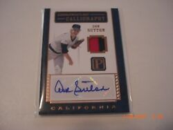 Don Sutton 2016 Panini Pantheon 2-color Game Used Jersey Auto 5/5 Signed Card