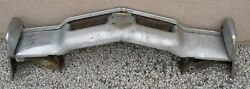X Lincoln Continental New Triple Plated Chrome Front Bumper 1969 69 Oem