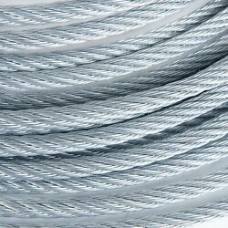 3/4 Galvanized Wire Rope Steel Cable Iwrc 6x19 700 Feet