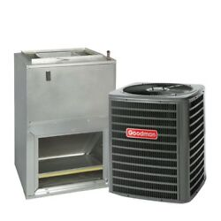 2.5 Ton 14 Seer Goodman Air Conditioning System Gsx140301 - Awuf37051