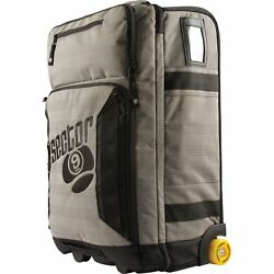 Sector 9 Schlepp Tote Travel Bag GreyBlack WWheels