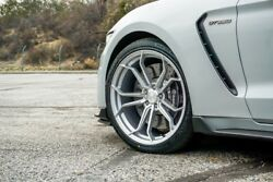 20 Avant Garde M632 Brushed Liquid Silver Wheels For Audi A7 S7