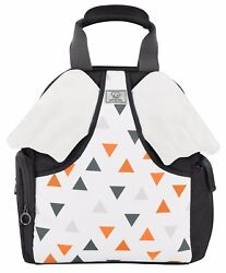 Premium Quality Designer Diaper Bag Backpack Easily Connects to Strollers $33.99