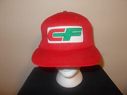 Vtg-1970s Usa Made Consolidated Freightways Farming Trucker Snapback Hat Sku10