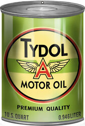 Tydol Quality Motor Oil Can Reproduction Garage Art Metal Sign - 12 X 18 Rvg253