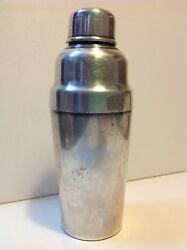 Antique Christofle Silver Plate Art Deco Shaker French Early 20th M1598