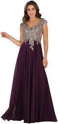 FORMAL EVENING LONG SPECIAL OCCASION PROM DRESS MILITARY BALL DESIGNER GALA GOWN